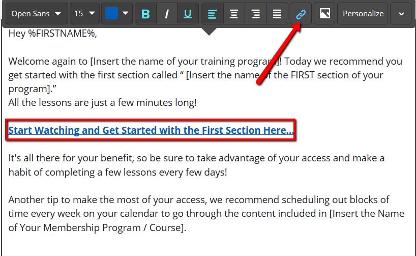 Memberium for ActiveCampaign + LearnDash Course Reminder Automation